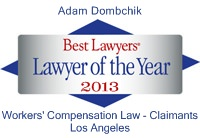 Adam Dombchik: Lawyer of the Year
