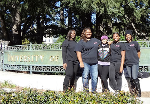 GEK sponsored these Carter High School students' participation in the Young Worker Leadership Academy at UC Berkeley.