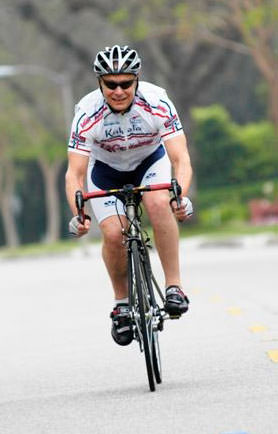 Bicycling Attorney Howard D. Krepack