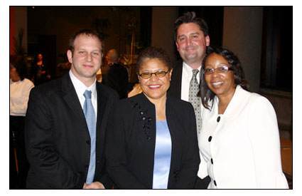Honors for AFT's Velma Butler, Assy. Speaker-Elect Karen Bass