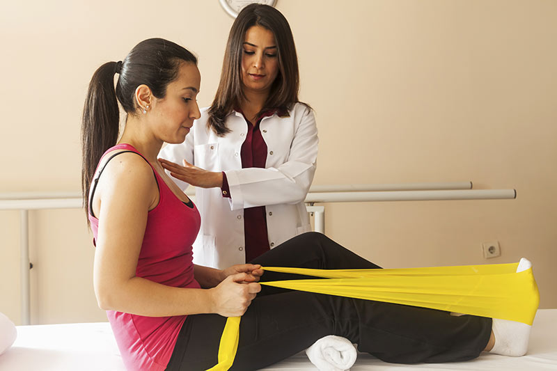Medical leave and physical therapy