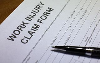 Modulo di richiesta di indennizzo per infortunio sul lavoro